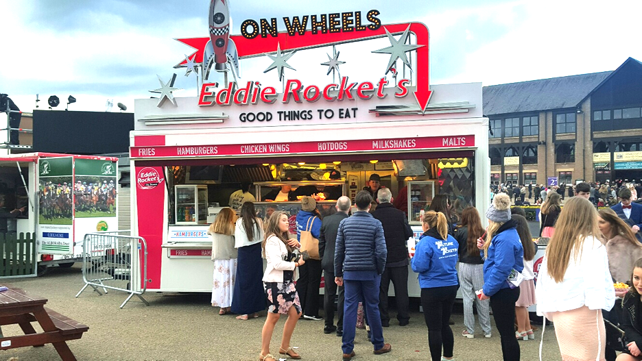 Eddie Rockets Mobile Event Catering Trucks