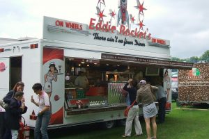 Eddie Rocket'sFood Truck | Farrell Mobile Catering Units