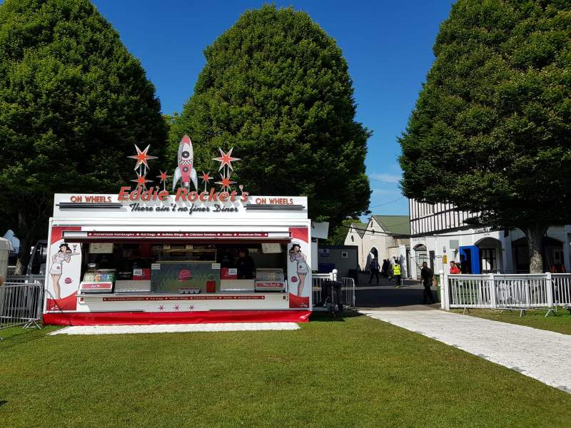 Eddie Rockets mobile unit | Sizzle catering trucks